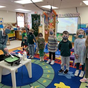 Green Eggs and Preschool